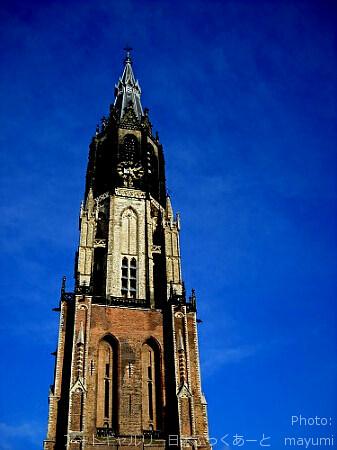 オランダ・デルフトの新教会