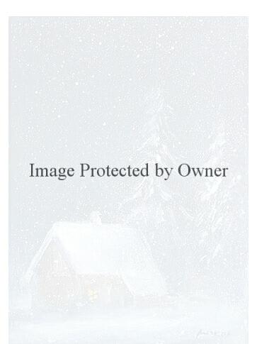 小さな油絵 雪の家 クリスマス プレゼント おススメ