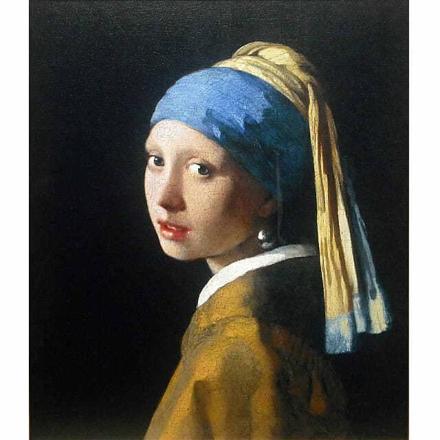 ヨハネス・フェルメール「真珠の耳飾りの少女」レプリカ