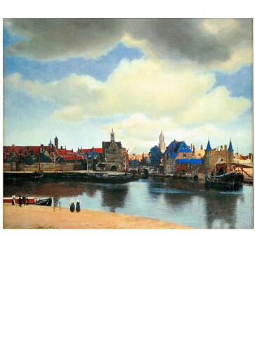 フェルメール デルフトの眺望 複製画