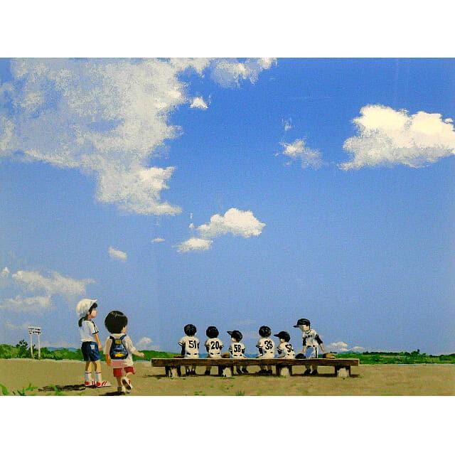 櫻井幸雄 さくらいゆきお 出番のないベンチ 北国の球場