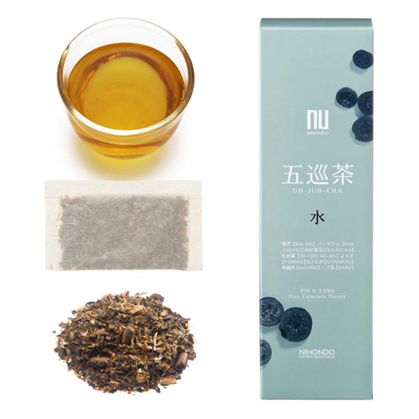 五巡茶:水