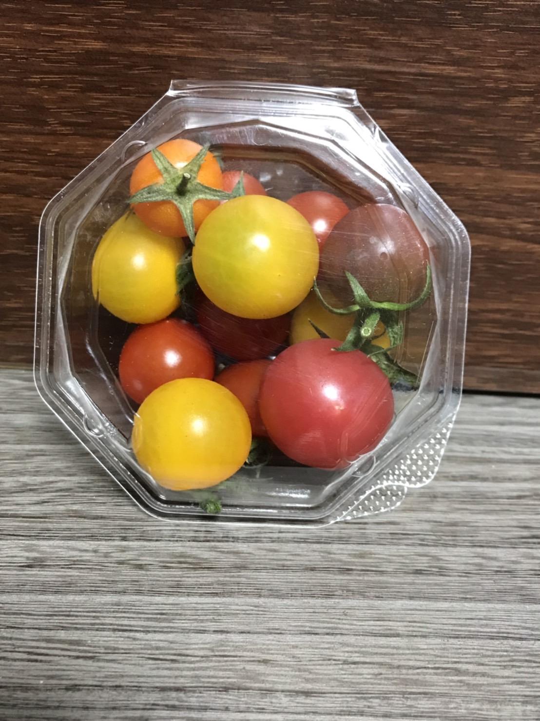 ★単品★ミニトマト(虹トマト)~色々な色のミニトマトが一つのパックに入っている~楽しくておいしい~