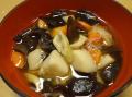 〜八重のふるさと会津より〜「伝統料理こづゆときくらげまぜごはんの素」のセット<西会津 きのこ屋>