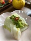 ★単品★(二本松農園初出荷)里山のお漬物!「白菜の塩漬け」★1個でも全国送料無料、ぜひお気軽にお試しください。