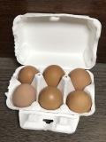 ★単品★ たまご6個入パック ~地鶏などの卵でおいしい~野菜類と同包可能です~