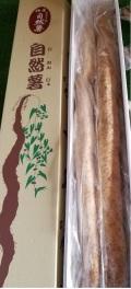 日本伝統の自然健康食品「自然薯(じねんじょ)」~2本で1kg化粧箱入 福島県二本松市産~