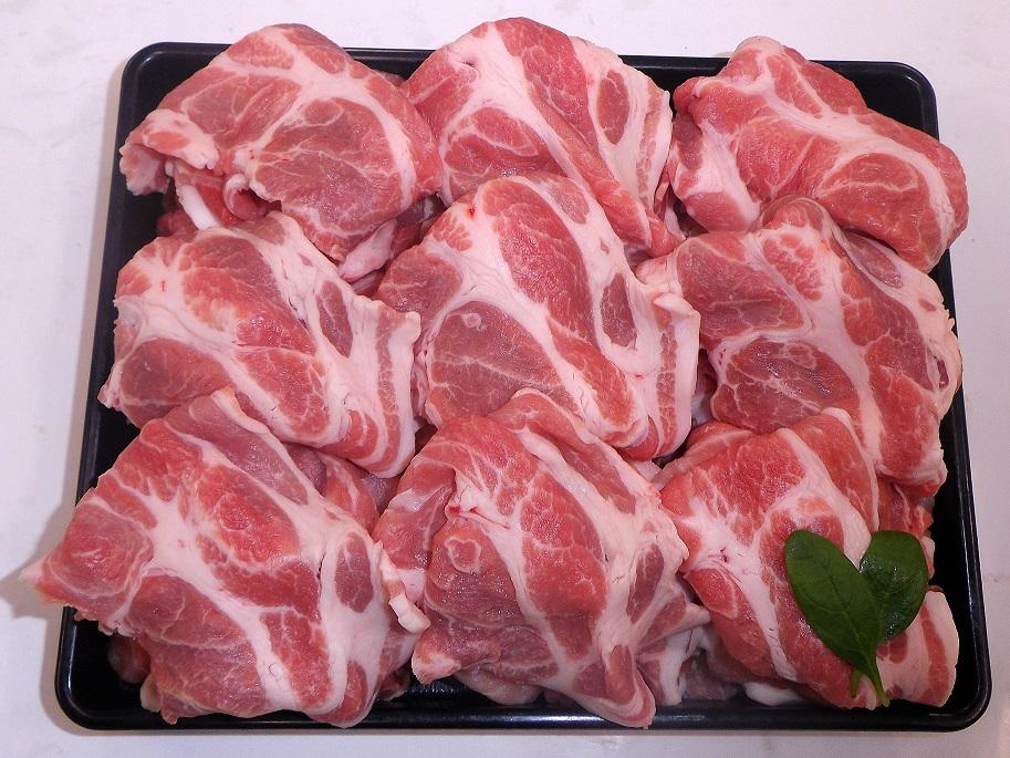 【3500円以上お買い上げで全国送料無料!】【福島のうまい肉ネット販売!】国産豚肉切り落とし(もも・肩・バラ)100g(冷凍)~こだわり肉屋「桜八」~13