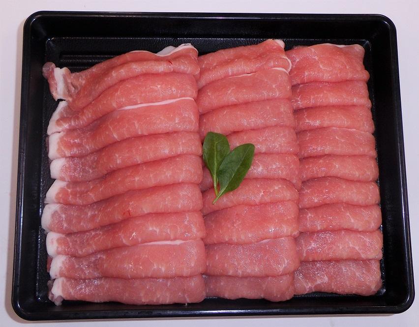 【3500円以上お買い上げで全国送料無料!】【福島のうまい肉ネット販売!】国産豚肉うす切り(ロース)100g(冷凍)~こだわり肉屋「桜八」~11