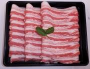 【3500円以上お買い上げで全国送料無料!】【福島のうまい肉ネット販売!】国産豚肉うす切り(バラ)100g(冷凍)~こだわり肉屋「桜八」~16