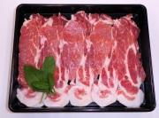 【3500円以上お買い上げで全国送料無料!】【福島のうまい肉ネット販売!】国産豚肉しゃぶしゃぶ用(肩ロース)100g(冷凍)~こだわり肉屋「桜八」~7