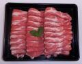 【3500円以上お買い上げで全国送料無料!】【福島のうまい肉ネット販売!】国産豚肉うす切り(肩ロース)100g(冷凍)~こだわり肉屋「桜八」~8
