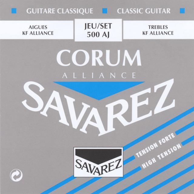 サバレス・アリアンスコラム 青/500AJ セット弦