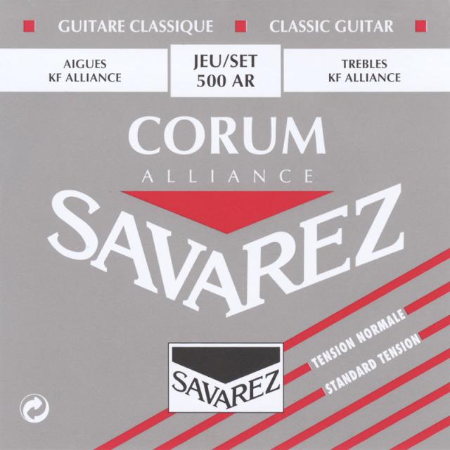 サバレス・アリアンスコラム 赤/500AR セット弦