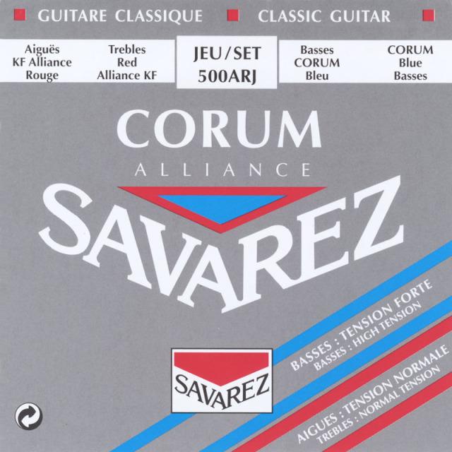 サバレス・アリアンスコラム 赤青/500ARJ セット弦