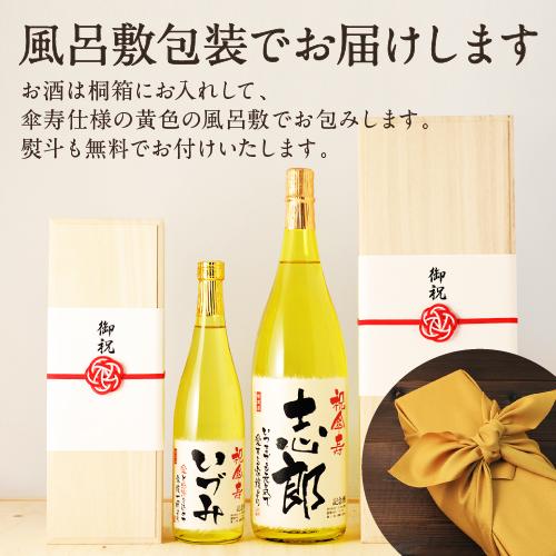 傘寿祝いのプレゼント包装について