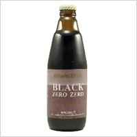 [新潟麦酒]BLACK ZERO ZERO:350ml×24本セット