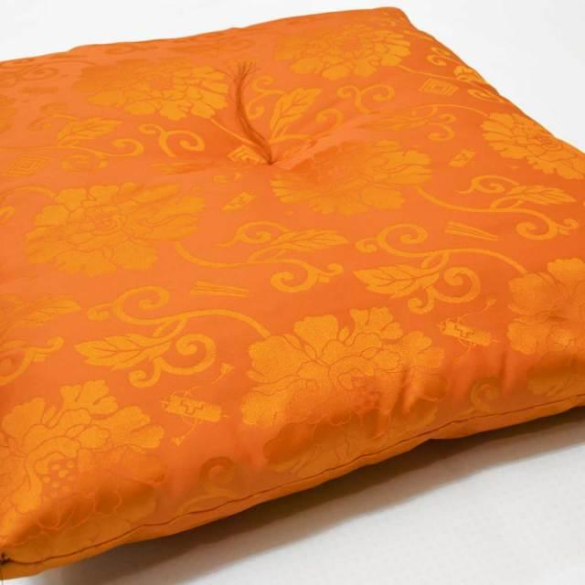 【傘寿(80歳)・米寿(88歳)のお祝いに】黄色座布団の柄