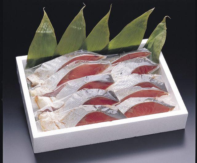 紅鮭山漬け10切れセット