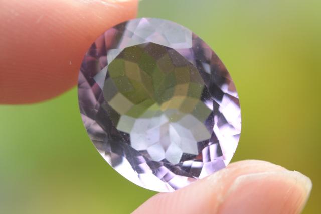 ピンクメジスト【19】天然石ルース(18×12mm)