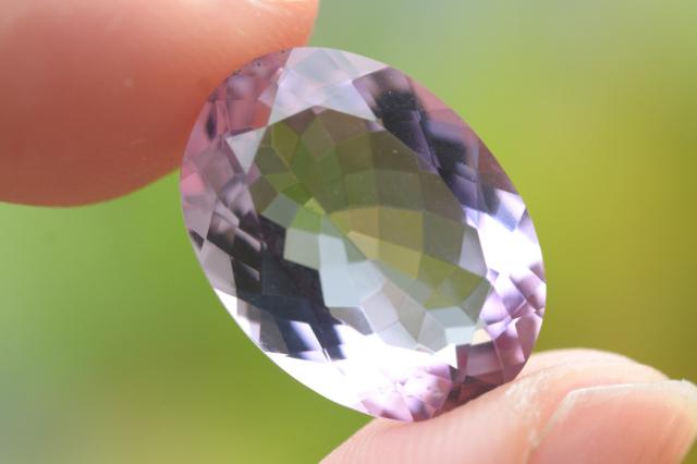 ピンクアメジスト【20】天然石ルース(17×14mm)
