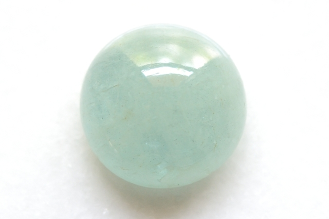 アクアマリン【29】天然石ルース・カボション(19.5×19.5mm)