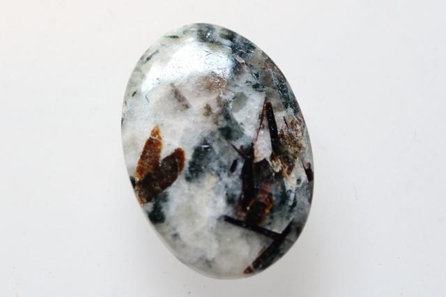 アストロフィライト)【4】天然石ルース・カボション(24×16.5mm)