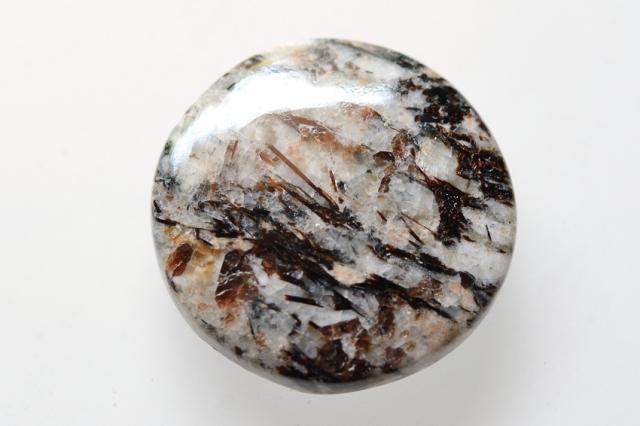 アストロフィライト)【5】天然石ルース・カボション(29×29mm)