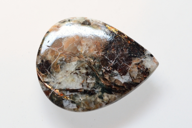アストロフィライト)【7】天然石ルース・カボション(36×29mm)