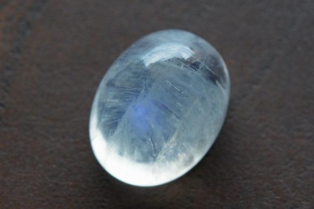 ムーンストーン【1】天然石ルース・カボション (12.5×9.5mm)