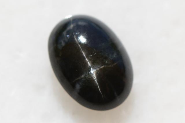 ブラックスター【18】天然石ルース・カボション (20×14mm)