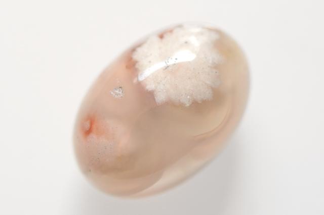 チェリーブロッサムアゲート【2】天然石ルース・カボション(22×15mm)