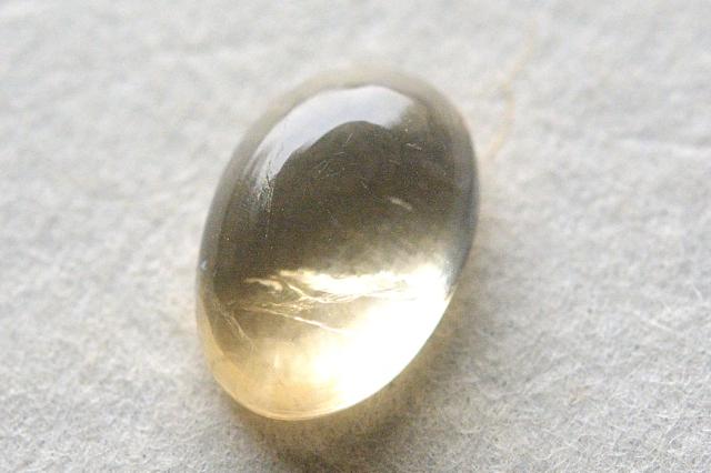 シトリン【7】天然石ルース・カボション(20×14.5mm)