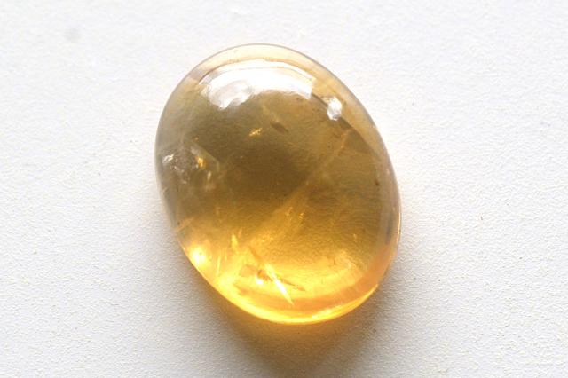 シトリン【9】天然石ルース・カボション(18.5×13mm)