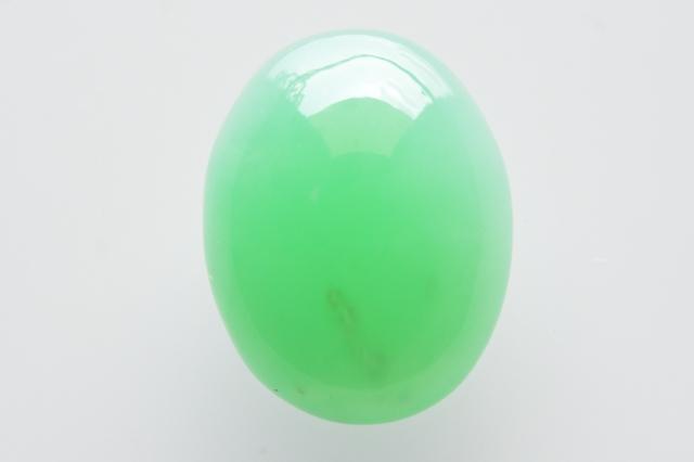クリソプレーズ(オーストラリア産)【13】天然石ルース・カボション(26×19mm)