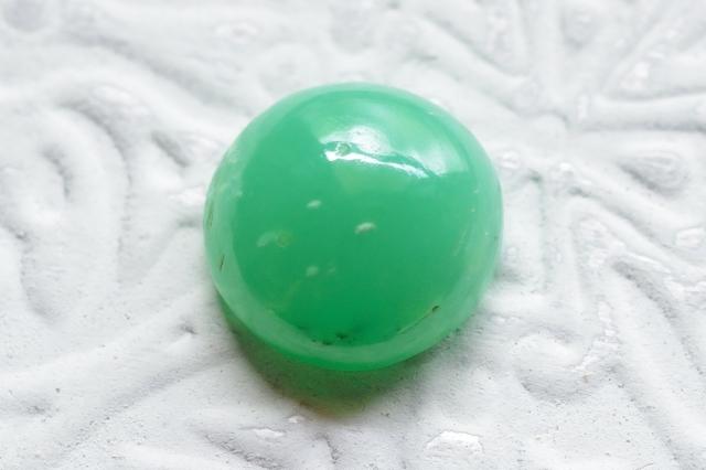 クリソプレーズ(アフリカ産)【9】天然石ルース・カボション(12×12mm)