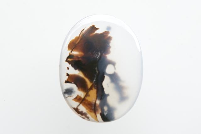 デンドリティックアゲート【41】天然石ルース・カボション (22.5×17mm)