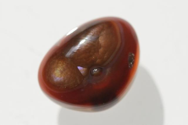 ファイヤーアゲート【11】天然石ルース・カボション(18×14mm)