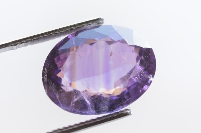 ファントムアメジスト【46】天然石ルース(16×12.5mm)