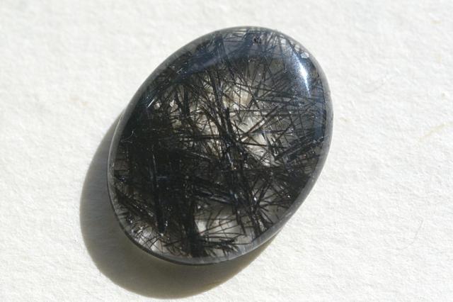 ゴールドルチルクォーツ【12】天然石ルース・カボション(25×19.5mm)