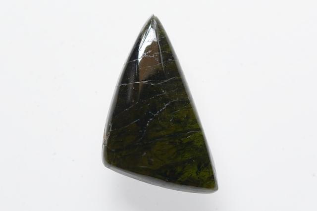 グリーントルマリン【5】天然石ルース・カボション(31×19mm)