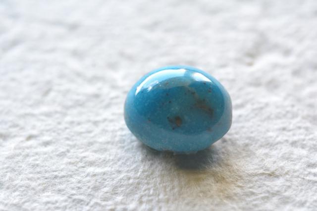 イラン産(ペルシャ)ターコイズ【23】天然石ルース・カボション(21×13mm)