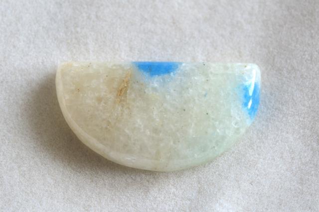 K2ストーン(K2ブルー)【4】天然石ルース・カボション(37.5×25.5mm)