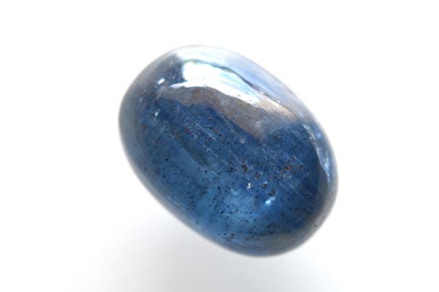 カイヤナイト(アフリカ産)【4】 天然石ルース・カボション(21×16mm)