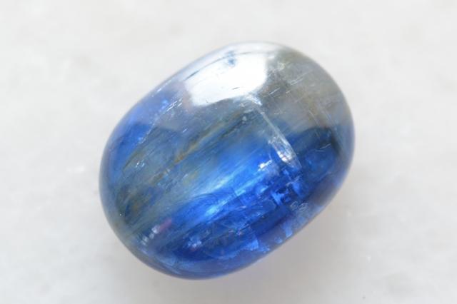 カイヤナイト(ネパール産)【11】 天然石ルース・カボション(16×12mm)
