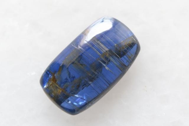 カイヤナイト(ネパール産)【22】 天然石ルース・カボション(14×8mm)