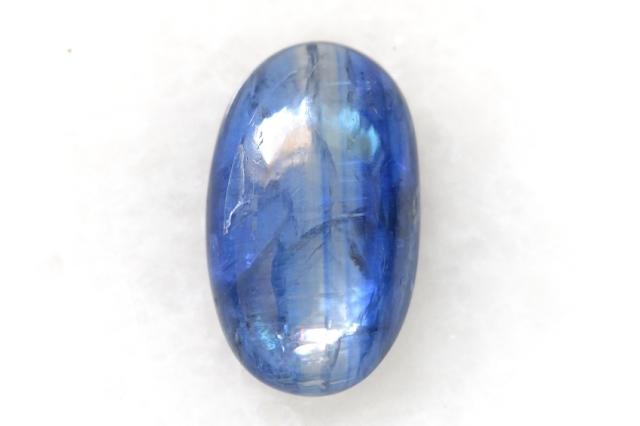 カイヤナイト(ネパール産)【28】 天然石ルース・カボション(17×10mm)