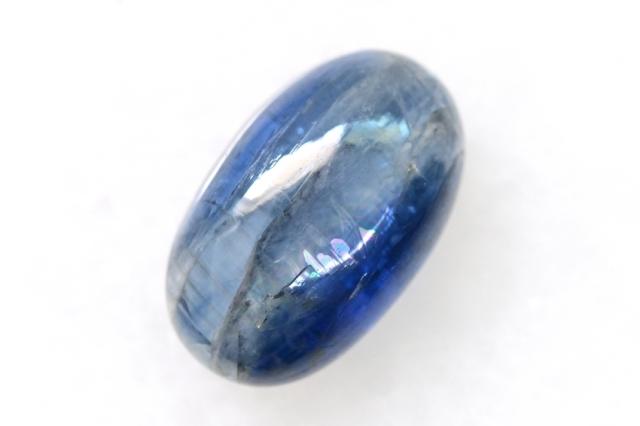 カイヤナイト(ネパール産)【29】 天然石ルース・カボション(18×11mm)