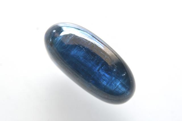 カイヤナイト(アフリカ産)【2】天然石ルース・カボション(26×10.5mm)
