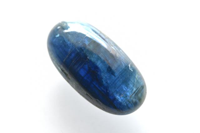 カイヤナイト(アフリカ産)【4】天然石ルース・カボション(17×11mm)